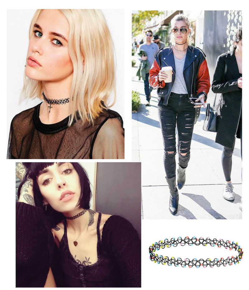 tattoo chokers - hit anos 90