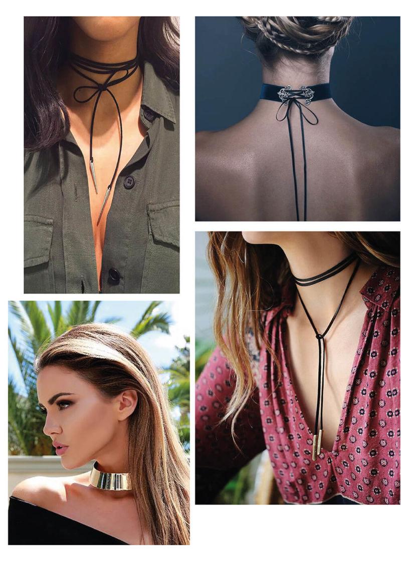 tendência: chokers, colares, gargantilhas