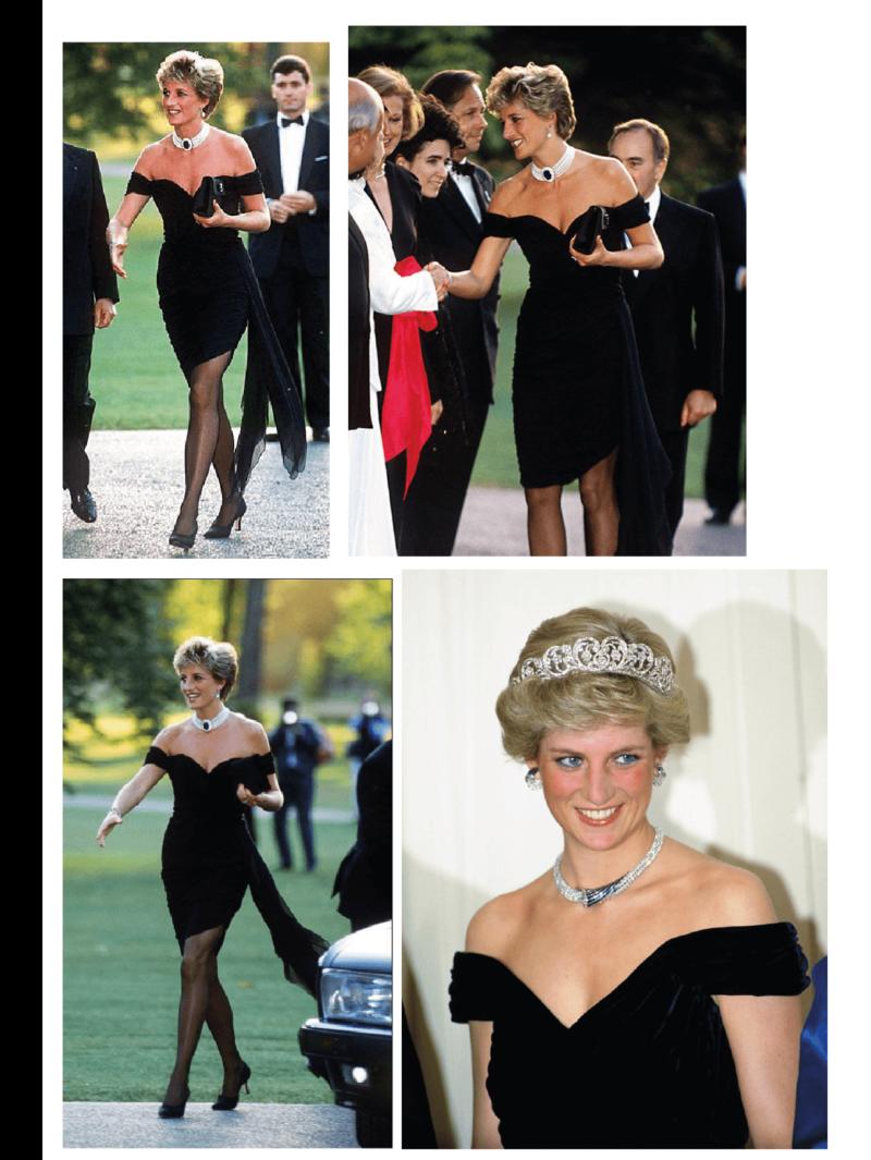 Princesa diana como ícone fashion - o legado de Lady Di