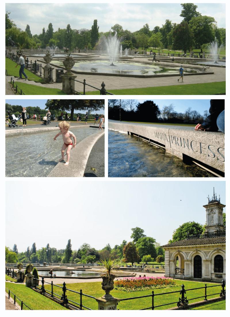 Fonte Diana Princess Hyde Park - o legado de Lady Di
