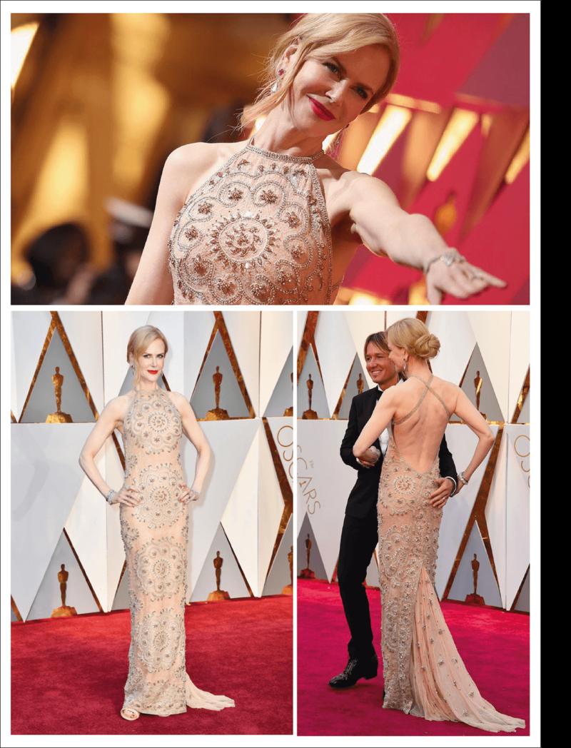 Melhores looks do Oscar 2017 - Nicole Kidmann