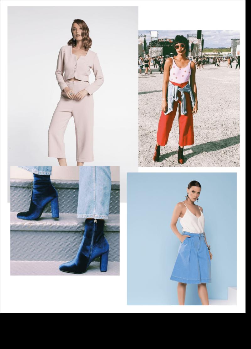 Amey-tendencia-Akle-Boots-Veludo-Vestido-Pantacourt