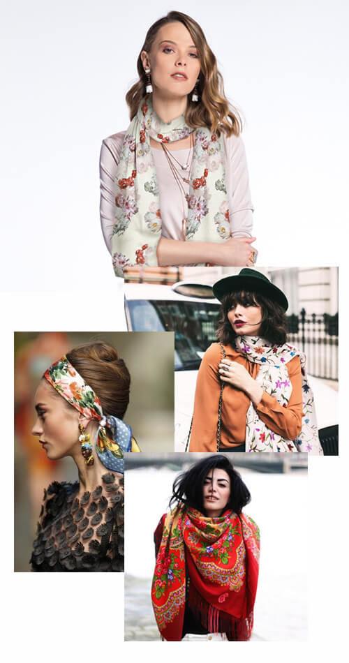 Lenços_Floral